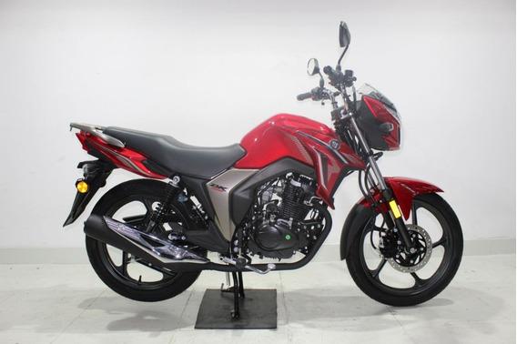 Haojue Dk 150 Cbs 2020 Vermelha