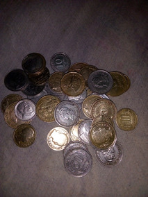 Lote De Monedas Antiguas Mas Billete Antiguo De 500