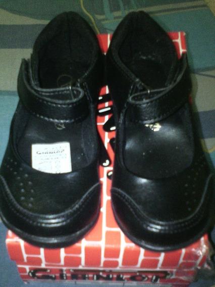 Zapatos Escolares Niñas Talla 25