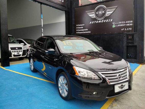 Nissan Sentra Sl 2.0 Flex 2015 Completo Único Dono Sem Troca