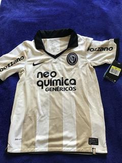 Camisa Corinthians Infantil - Centenário Bege Original T S