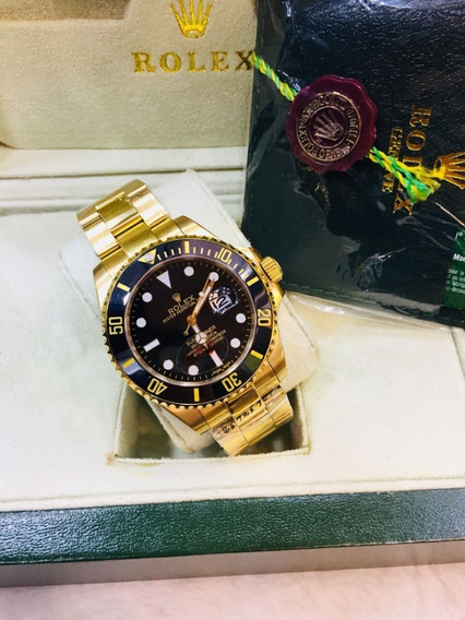 Rolex Submariner + Caixa Rolex Com Manual E Certificado
