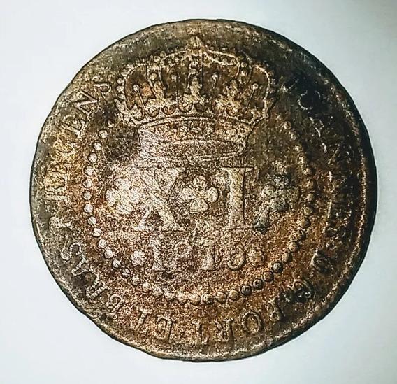 Moeda - Xl Réis 1815 R - Mbc