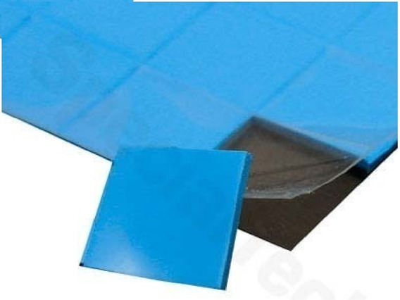 Thermal Pad 10x10x0.5mm Termico Adesivo Bga Gpu Chipset 10un