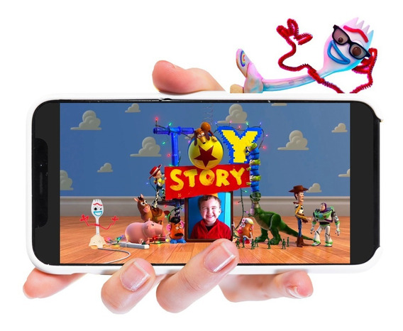 Invitación Toy Story 4 En Video Forky Envía Video Invitación
