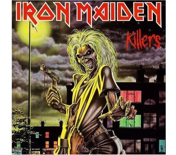 Lp Iron Maiden Killers 180g Lacrado Importado Pronta Entrega