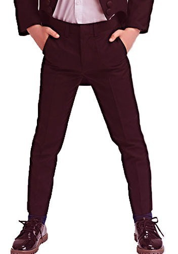 Pantalon De Vestir Chupin Niño Tela Saten! Vs Colores, Local