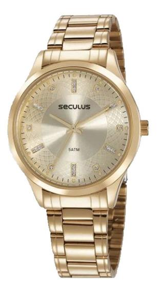 Relógio Seculus Feminino 23620lpsvds1