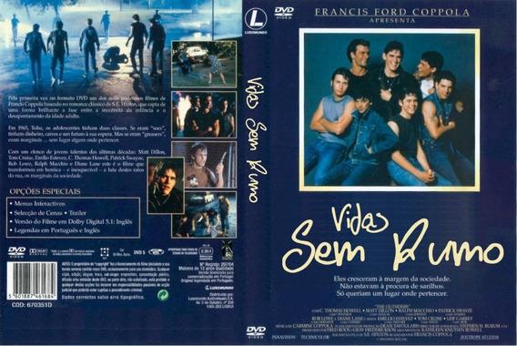Dvd Vidas Sem Rumo Dublado 1983 - Patrick Swayze Tom Cruise