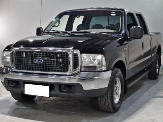 Ford F-250 4.2 Xlt Preta Cd Turbo Interc. Diesel 4p 2005