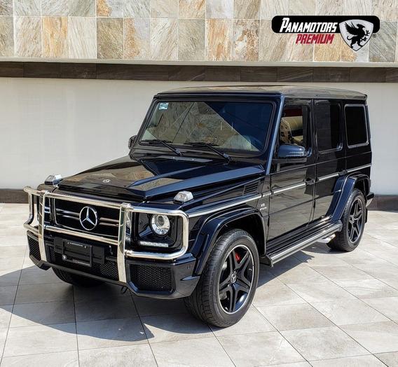 Mercedes Benz Clase G63 Amg, Biturbo, Ta,negro,2018