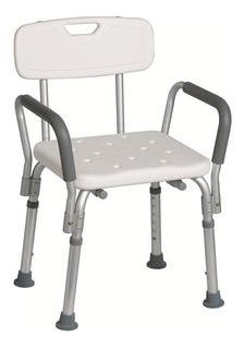 Silla De Ducha De Aluminio Para Baño Bañar Paciente Ofertonº
