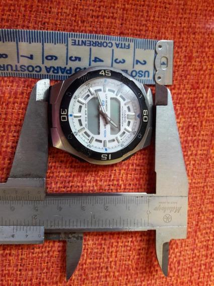 Relógio Casio Antigo Aq-164w Não Funciona Leia Descrição