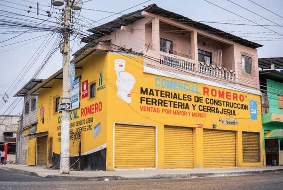 Casa De Apartamentos 300m² Esquinera Zona Comercial Calle Pr