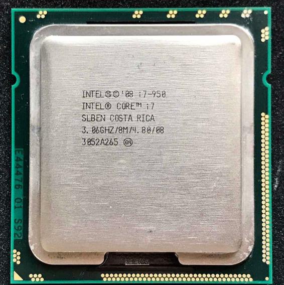 Processador Intel Core I7 950 3.06ghz Lga 1366 C/ Cooler