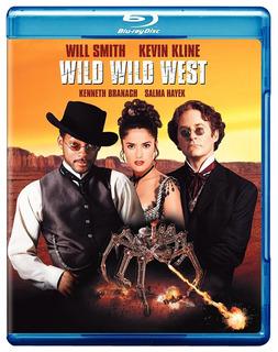 Blu Ray Wild Wild West - Stock - Sellado - Nuevo