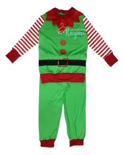 Traje Disfraz De Duende Navidad, La Costura De Raymi