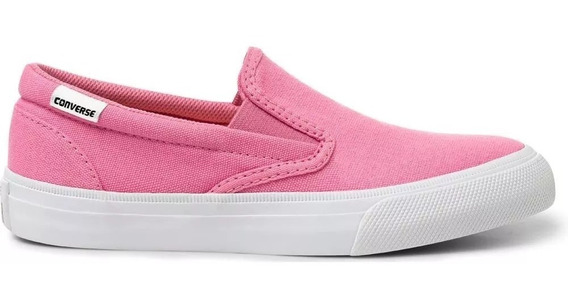 Tênis All Star Converse Slip On Rosa