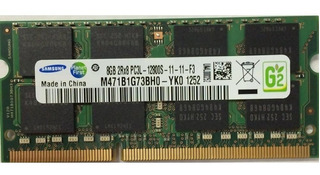 Memoria Ram Samsung 8gb Pc3l-12800s Laptop Hp Acer Lenovo