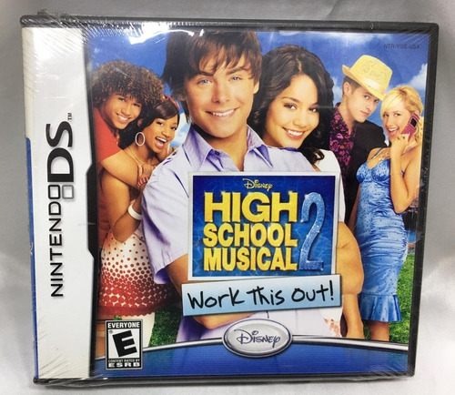 Juego Nintendo Ds High School Musical 2 Nuevo Orig. Replay