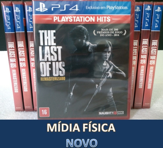 The Last Of Us Remasterizado - Ps4 - Mídia Física