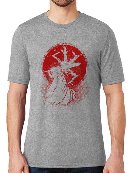 Camiseta Berserker Guts Blood Anime Camisa Masculina