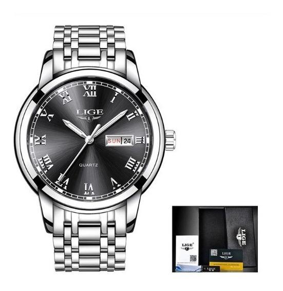 Reloj De Cuarzo Hombres Marca Lige,