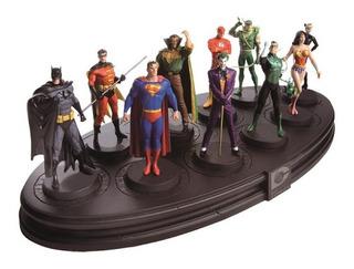 Dc Superheroes: Cajas De Figuras Colección Aguilar/la Nación