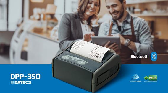 Impressora Datecs Dpp350 Mini Portátil Nova