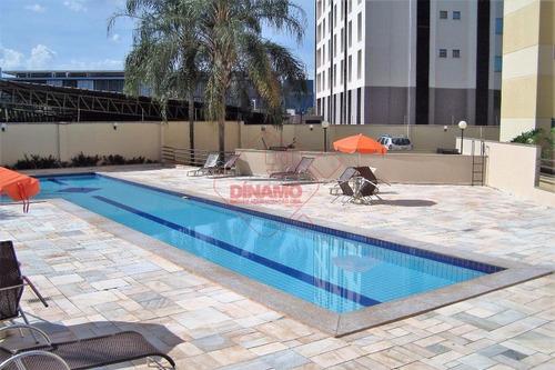 Flat Com 1 Dormitório Para Alugar, 70 M² Por R$ 1.000,00/mês - Nova Aliança - Ribeirão Preto/sp - Fl0001