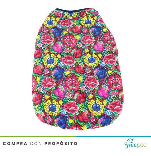 Imagen 1 de 5 de Playera Floral Oaxaqueña (l)