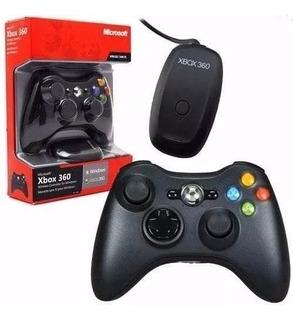 Joystick Inalambrico Microsoft Original Xbox 360 + Receptor