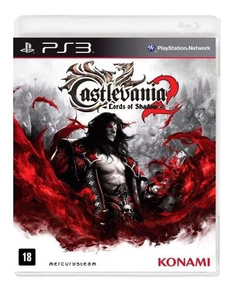 Castlevania Lords Of Shadow 2 Ps3 Mídia Física Liquidação