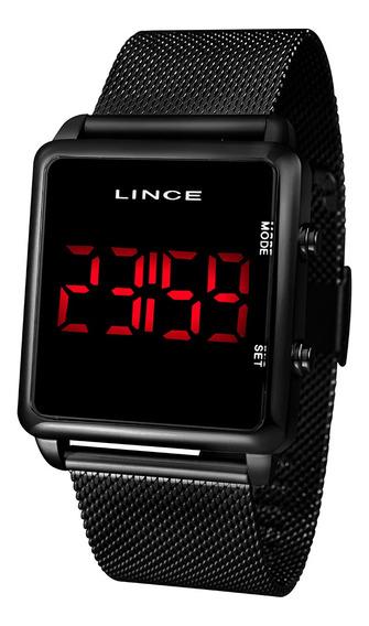 Relógio Lince Led Clássico Mdn4596l Pxpx