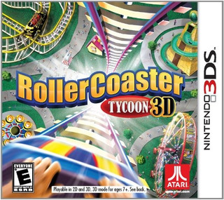 Juegos,rollercoaster Tycoon - Nintendo 3ds..