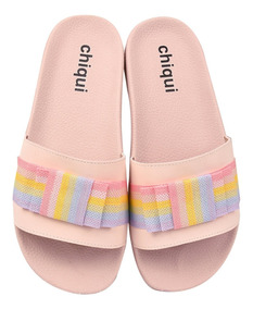 Chinelo Slide Beach Feminina Rasteira Full 07050853