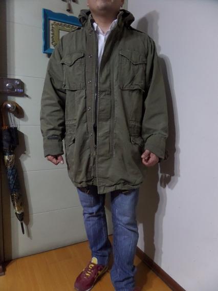 G25 Casaca Tipo Militar Largo Abrigo Talla Grande Capotin