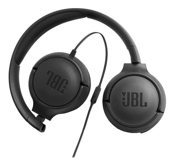 Fone De Ouvido Jbl On Ear T500blk