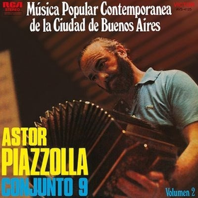 Vinilo Astor Piazzola Musica Popular De Bs As Vol2. Lp