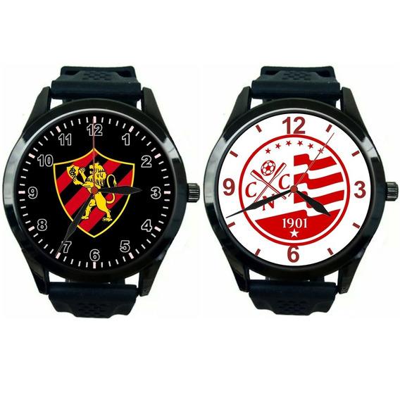 Kit 2 Relógios Pulso Esportivos Náutico E Sport Promoção