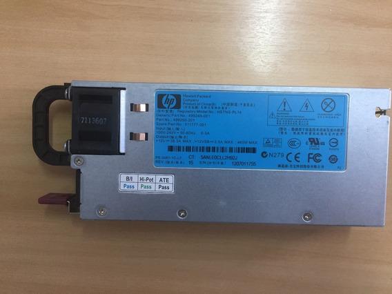 Hp Proliant Ml350 G6 Dl380 G7 G6 460w 499249-001 499250-101