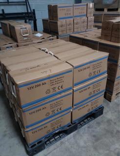 Venta De Baterías De Gelatina 12 Voltios 160 Amperes