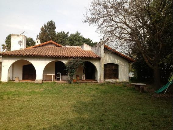 Casa Quinta, Fin De Semana O Vivienda Permanente