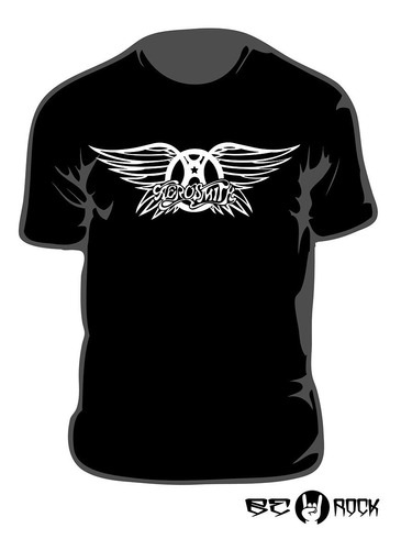 Remera Estampada Aerosmith Vinilo Importado