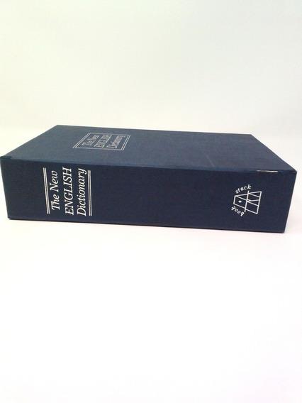 Cofre Livro English Dicionário Chaves P/jóias Dinheiro Fotos