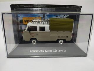 Miniatura Vw Kombi Cd 1981 - Nossas Queridas Picapes