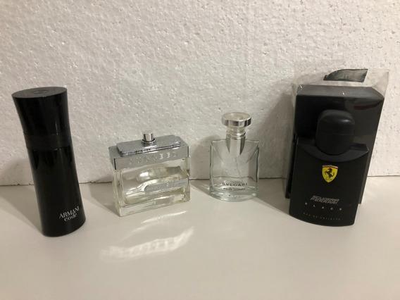 Vidros De Perfumes Masculinos Importados Vazios
