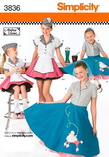 Patrones Para Disfraces De Niña Vestido Falda Halloween