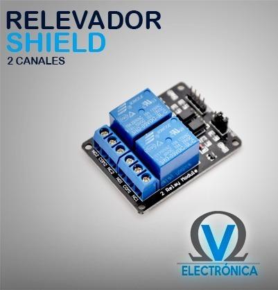 Módulo Rele Relay 2 Canales 5v Para Arduino Pic 33 00 En