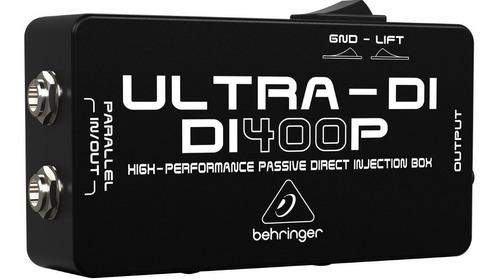 Imagen 1 de 4 de Caja Directa Pasiva Ultra-di400p Behringer Envio Full